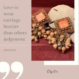 Handmade Clip-On Earrings